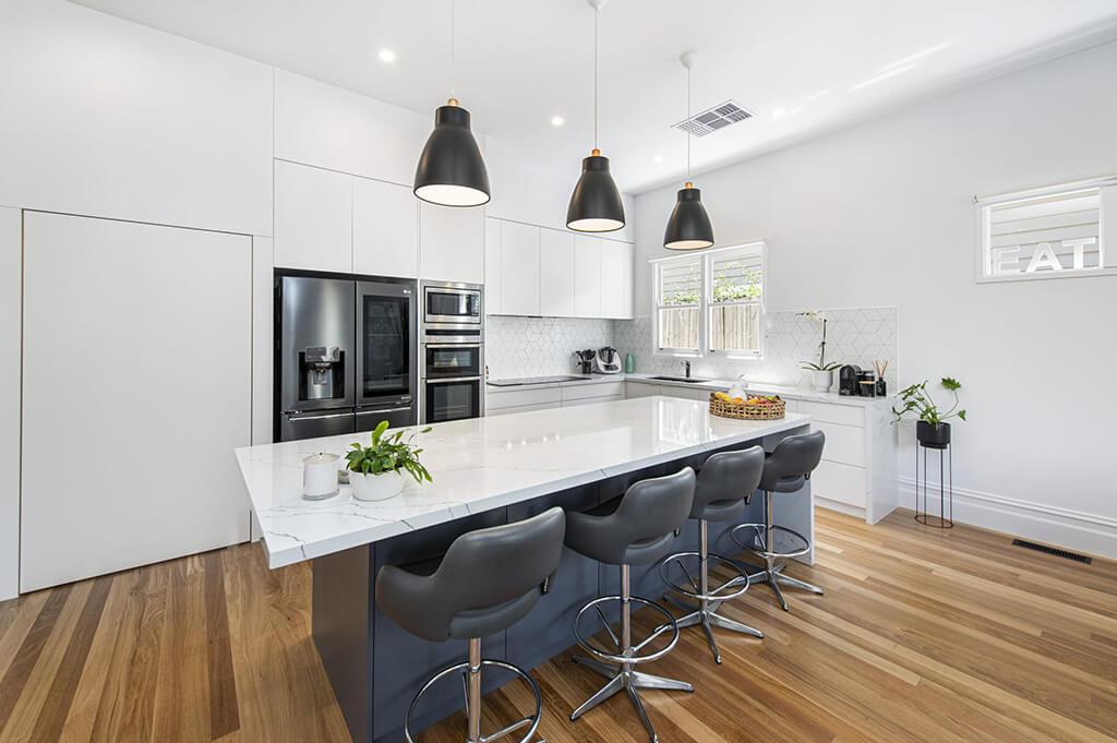 Carnegie kitchen renovation